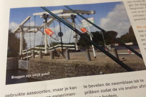 Aan de Amsterdamse Grachten, doodazen met een dobber - VISSEN MAGAZINE